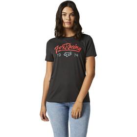 Fox Center Stage BF Kurzarm T-Shirt Damen schwarz